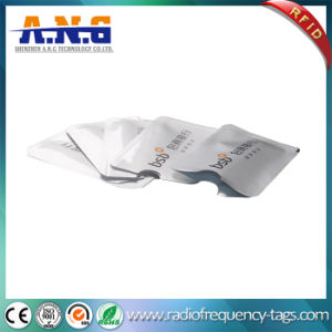 Printing Aluminium Foil Paper RFID Protection Sleeves / Scanner Guard Card pictures & photos