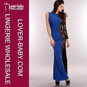 Floor Length Woman Party Long Dress (L5007-1) pictures & photos