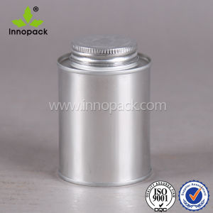 16oz 24oz Small Metal Tin Can with Screw Lid and Brush for Oil pictures & photos