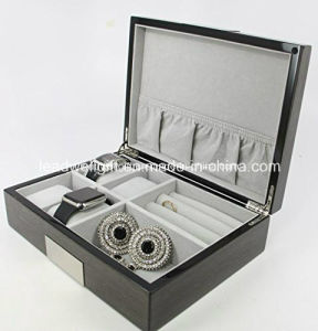 Executive High Class Cufflink Case & Ring Storage Organizer Men′s Jewelry Gift pictures & photos