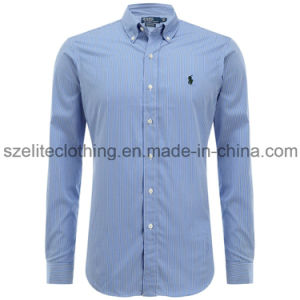 Long Sleeve Men Casual Shirts Pictures (ELTDSJ-264) pictures & photos