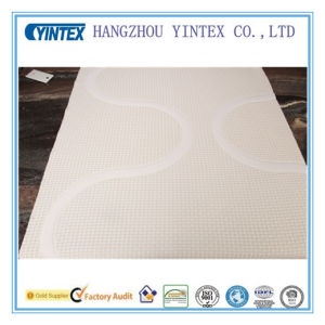 Cheap Mattress Layer Line Pattern Polyster Fabric pictures & photos