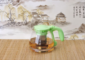 1000ml Clear Glass Teapot Coffee Pot for Household