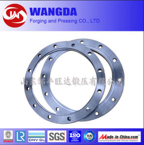 ANSI DIN Steel Forged Casting Slip-on Pipe Flange pictures & photos
