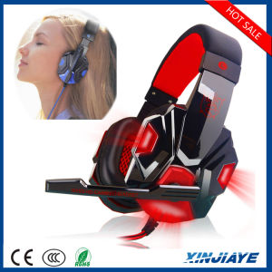 PC780 USB 3.5mm Stereo Multifunction Gaming Headphone with Mic LED Light pictures & photos