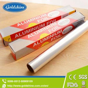 Roll Type Food Grade Aluminium Foil with Color Box pictures & photos