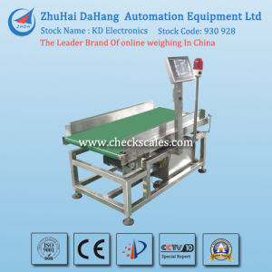 Online Checkweigher with High Quality Weight Sensor pictures & photos