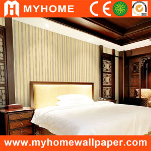 Popular Modern Stripe Wall Paper for Decoration pictures & photos
