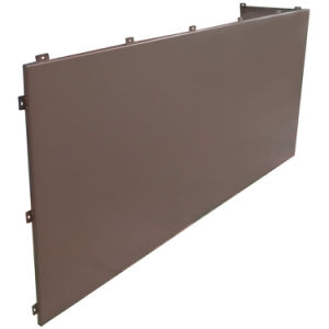 Custom Produced Aluminum Architectural Panels with PVDF Coating pictures & photos