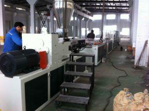 UPVC Plastic Window Door Profile Production Line pictures & photos