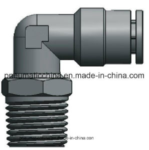 Brass Nickle-Plated Fittings, Metal Push in Fitting pictures & photos