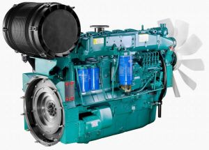 Water Cooled Deutz Diesel Engine (WP6D132E201) pictures & photos
