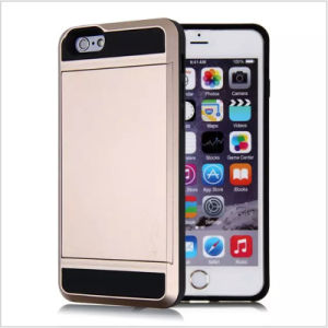 New Style Korea Armor Hybrid Vernus Case for iPhone 6/6s with Card Slot Holder pictures & photos