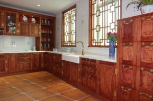 Chinese Hoary Kitchen Cabinets Furniture