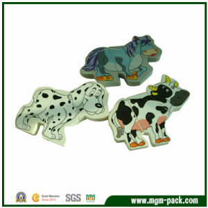 Popular Lovely Animal-Shaped Wooden Puzzle for Gift pictures & photos