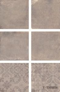 Cement Porcelain Grey Different Faces Matte Non-Slip Commercial Space Floor Tile (600X600mm)