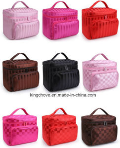 Printed Nylon Cosmetic Bag with Many Colors (KCCA026) pictures & photos