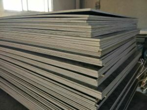 Film Faced Plywood, Brown Film with Printing Logo, Full Poplar Core, Mr Glue, Tolerance: 18mm: +/-0.5mm pictures & photos