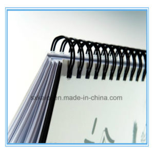 A4 Double Loop Book Binding O Spiral Wire pictures & photos