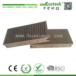 Solid Grooved 150X25mm WPC Composite Decking, Outdoor WPC Flooring Board, Decking Board pictures & photos