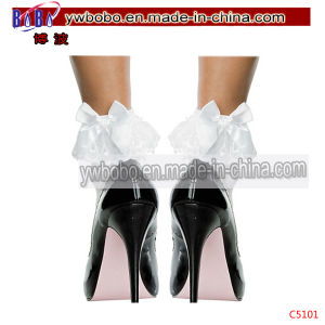 Lady Pants Ruffle Frilly Ankle Stocks Anklet Party Supply (C5101) pictures & photos
