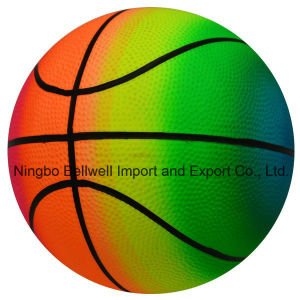 PVC Toys Inflatable Color Printing Rainbow Basketball pictures & photos