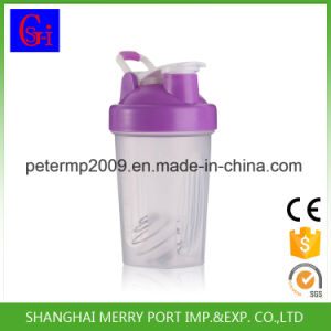 400ml 14oz Yellow Plastic Shaker Cups, Protein Shaker pictures & photos