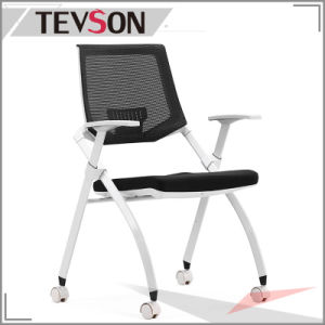 Executive Satisfactory Foam Office Mesh Chair with Foldable Seat Bag pictures & photos
