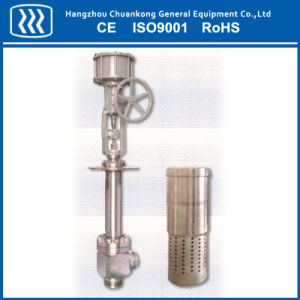 Angle Control Valve for Cold Box Only (Cage Guided Balanced) Dn40 ~ Dn300 pictures & photos