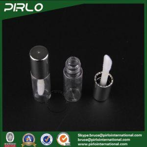 1ml 1g Mini Plastic Lipstick Tube for Lipstick Lip Balm Sampler Lipstick Tube with Brush and Shiny Silver Cap pictures & photos