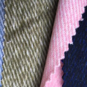 Twill Fleece Wool Fabric, Suit Fabric, Clothing, Jacket pictures & photos