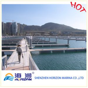 Made in China Marina Pile Cap Floating Dock pictures & photos