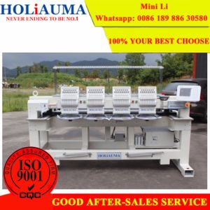 The Big China Machine Factory Produce Embroidery Manufacturing Machines with 4 Heads 15 Colors pictures & photos