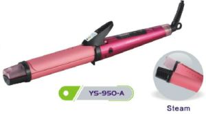 Pink Red 2 in 1 Hair Straightener and Hair Curler for Beauty Salon pictures & photos