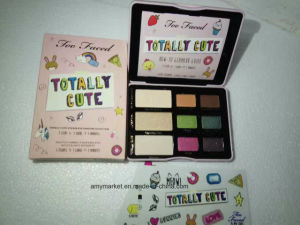 Sugar Pop Totally Cute Cat Eyes Too Faced 9 Color Cosmetic Eyeshadow Blush Makeup Palette pictures & photos
