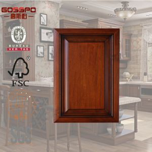 American Style Wood Kitchen Cabinet Door Design (GSP5-006) pictures & photos