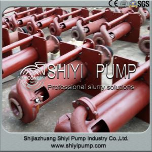 Heavy Duty Vertical Underflow Sump Slurry Pump pictures & photos