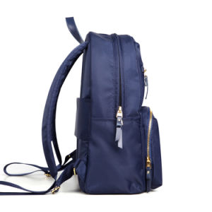 Fashion Girls/Women Rucksack Canvas School Waterproof Backpack Bag pictures & photos