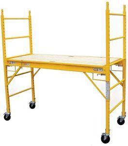 6FT 1000lb. Capacity Multipurpose Rolling Steel Adjustable Indoor Scaffolding pictures & photos