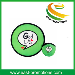 Eco-Friendly, Safety and Foldable Promotion Frisbee pictures & photos
