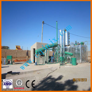 Black Engine Oil Recycling to Diesel Gasoline Oil Distillation Machine pictures & photos