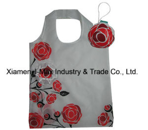Foldable Gifts Shopper Bag, Flowers Rose Style, Tote Bags, Reusable, Lightweight, Grocery Bags and Handy, Promotion, Eco Shopper pictures & photos