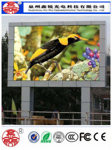 High Resolution P10 DIP Outdoor Full Color Advertising LED Display pictures & photos