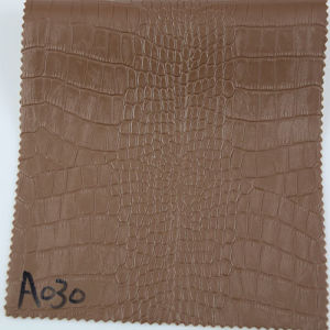 Upholstery Embossed Faux PU PVC Leather for Bag Handbag (A030) pictures & photos