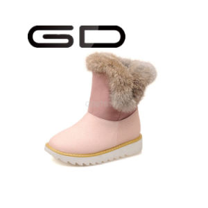 Cheap Fancy Polo Warm Snow Boots for Girls pictures & photos