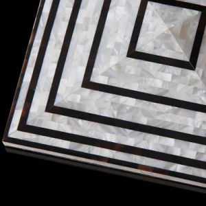 Luxury Design Mother of Pearl Mosaic for Wall pictures & photos