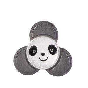 High Speed Round Wheel Fidget Spinner Black Panda Hand Spinner pictures & photos