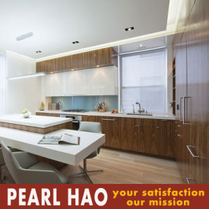 Customized Design Melamine Wood Kitchen Cabinet pictures & photos