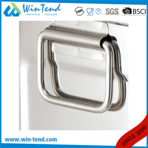 Hot Sale Stainless Steel Square Soup and Beer Barrel with Hand up Lid pictures & photos