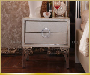 Italy Design Modern Mirrored Bedside Chest with Drawer pictures & photos
